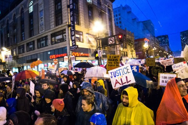 Women's March San Francisco. Photo by Sam Girvin.