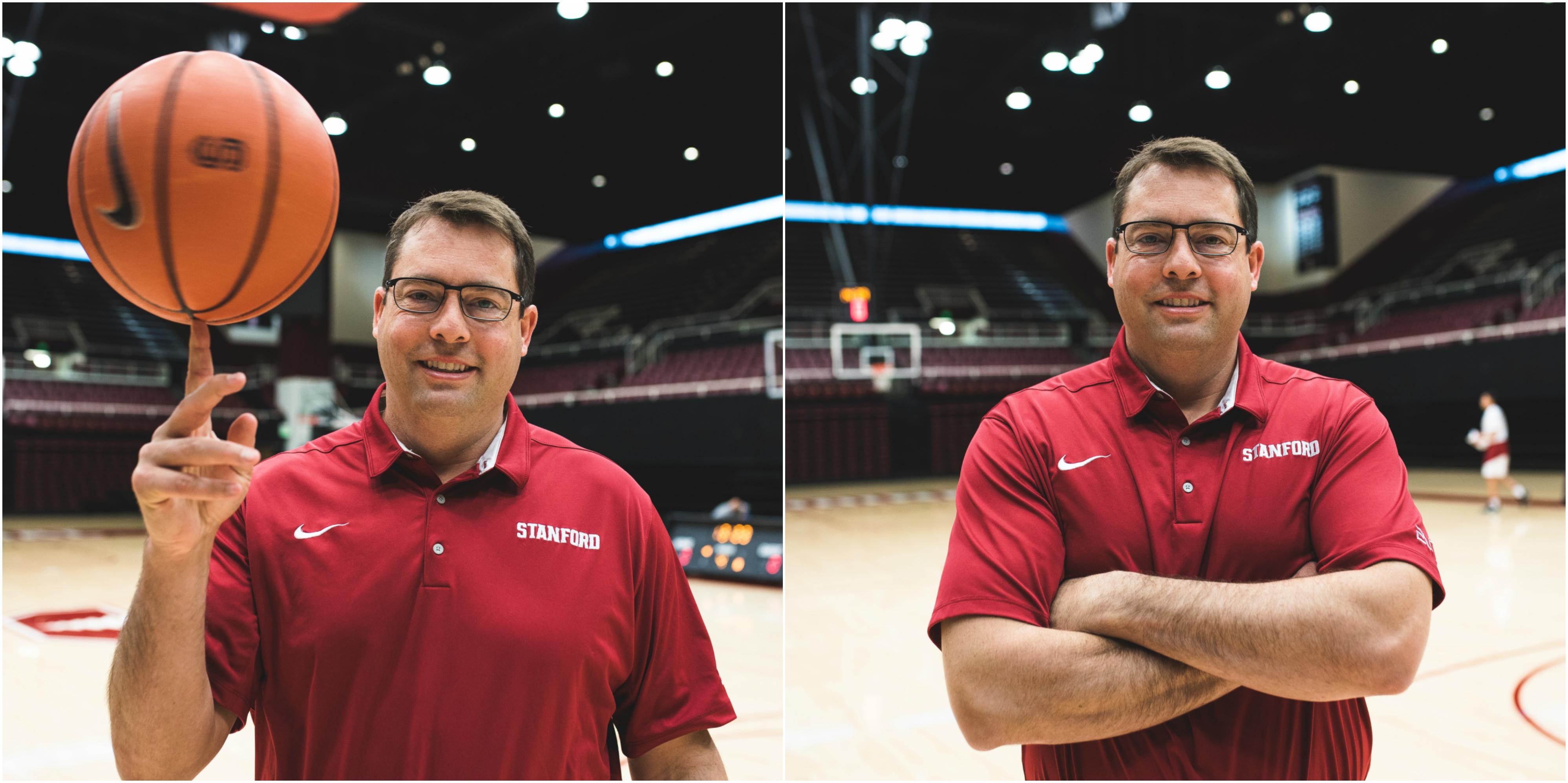 Coach Jerod Haase (RAHIM ULLAH/The Stanford Daily)