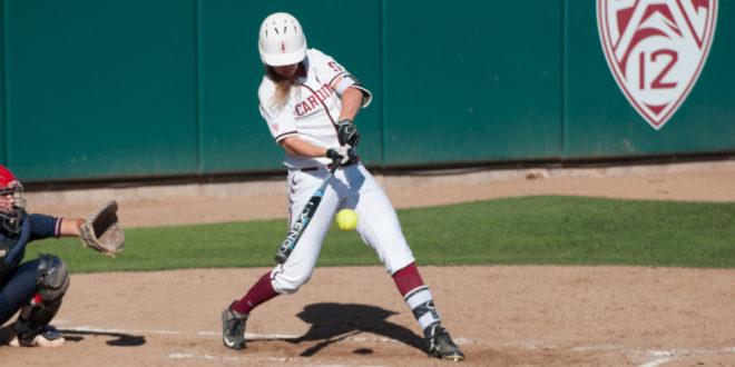 Softball snaps losing streak with win over Santa Clara