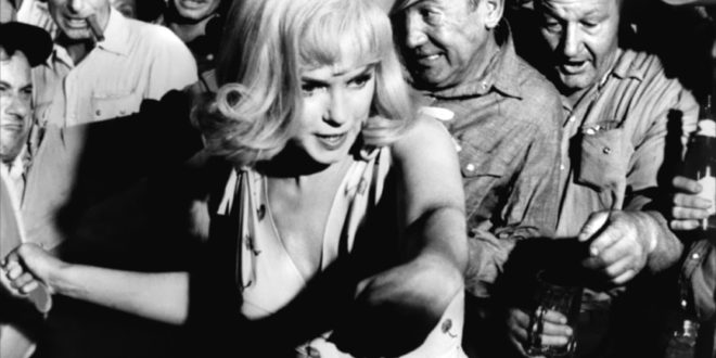 Marilyn Monroe's final film screens on campus