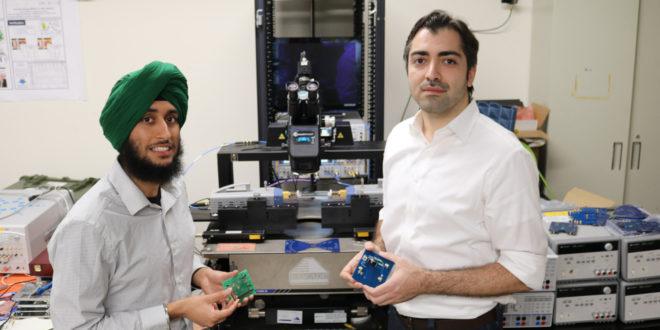 Researchers design energy-saving method to wake up electronics