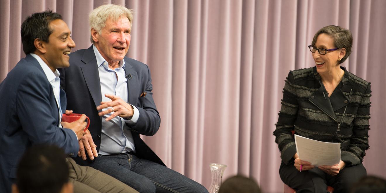 Harrison Ford, M. Sanjayan talk environmental sustainability