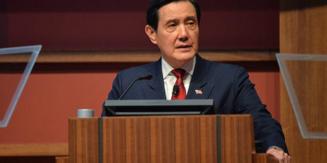 Former President of Taiwan talks democracy and politics