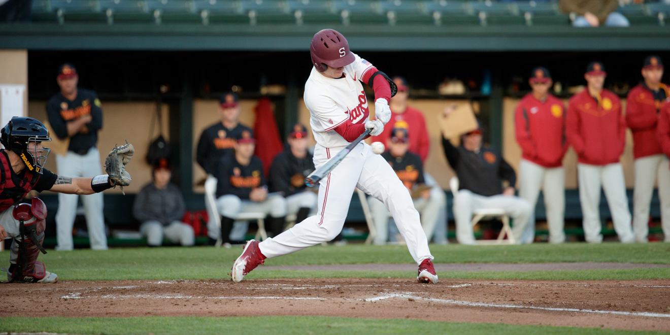 Offensive explosion powers No. 2 baseball to victory over Santa Clara