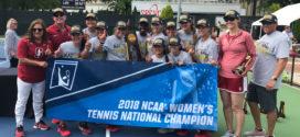 Stanford women's tennis upsets Vanderbilt to win NCAA title