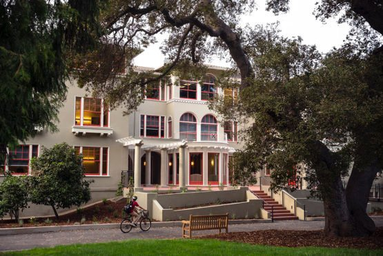 Kingscote Gardens, where Stanford's Title IX Office