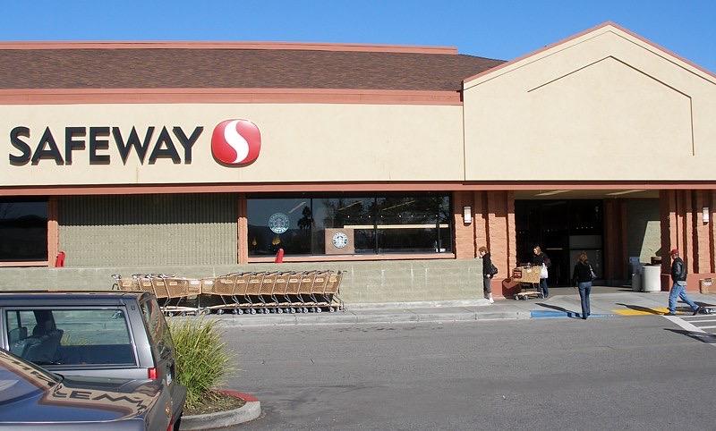 a California Safeway store