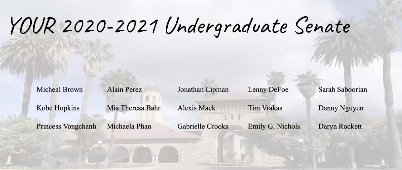 Undergraduate Senate